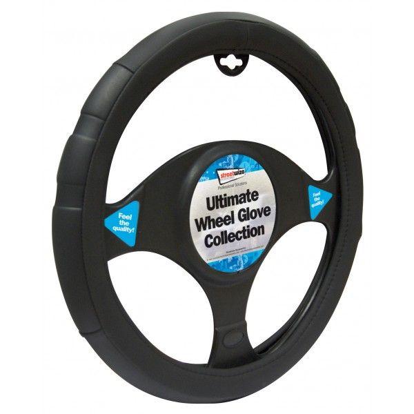 Steering Wheel Cover Comfort Grip Black