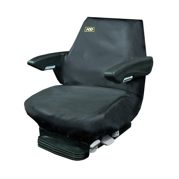 Tractor Seat Cover Large Black