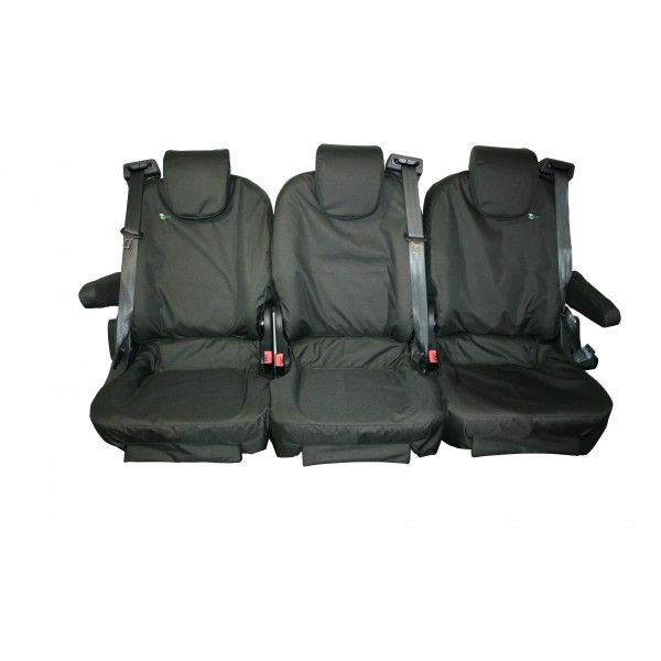 Tailored Van Seat Cover Three Person Rear Ford Transit Custom Tourneo