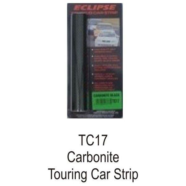 Eclipse Carbonite Touring Car Sun Strip Black