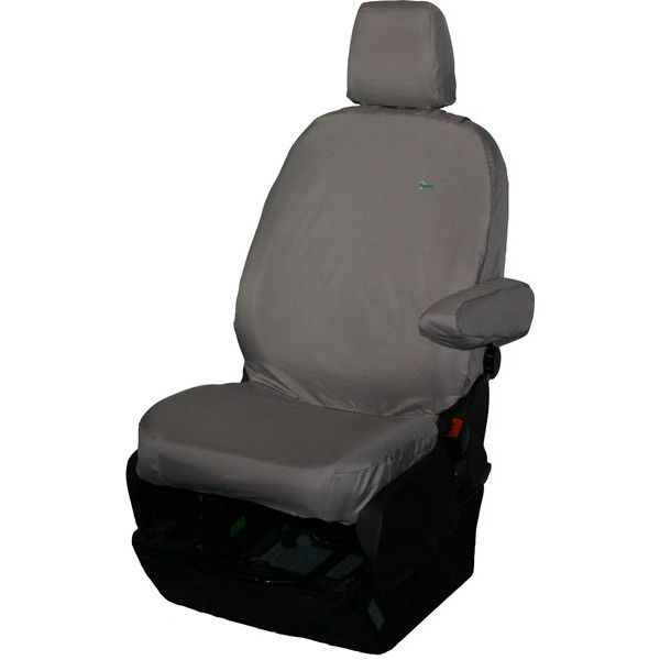 Van Seat Cover Single Grey Ford Transit Chassis Cabtipper 201363 Onwards