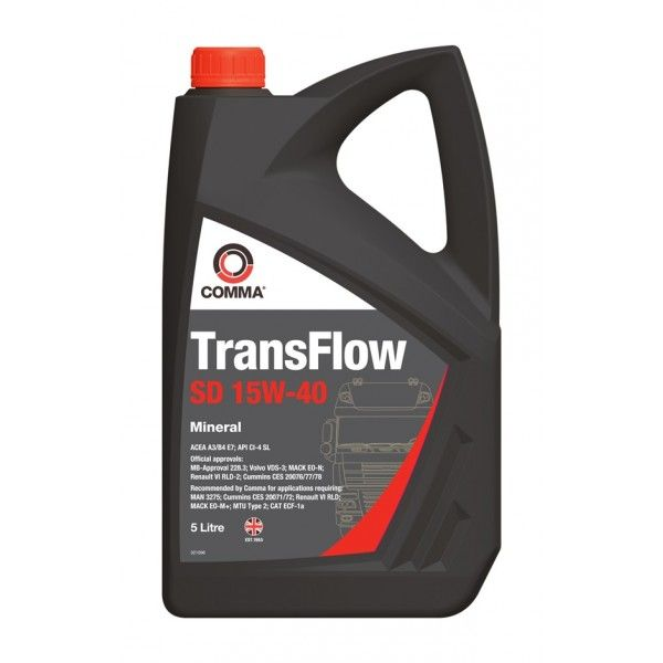 Transflow Sd 15W40 5 Litre
