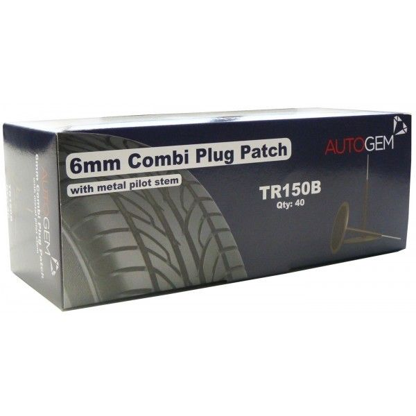 Combi Plug Patches 6Mm Pack Of 40