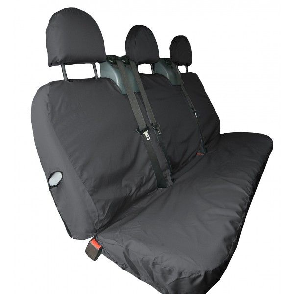 Van Seat Cover Rear Black Ford Transit Crew Up To 2014