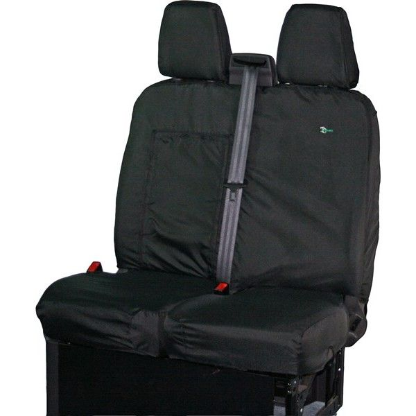 Van Seat Cover Double Black Ford Transit 2014 Onwards