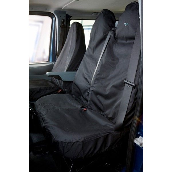 Van Seat Cover Double Black Ford Transit