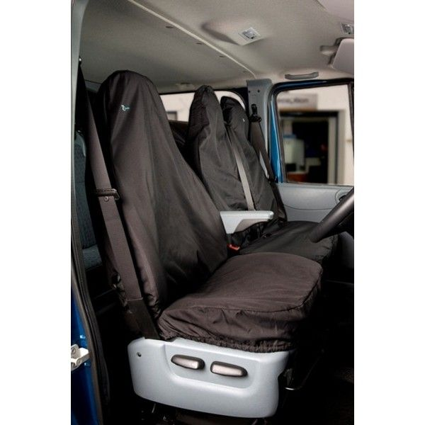Van Seat Cover Single Black Ford Transit