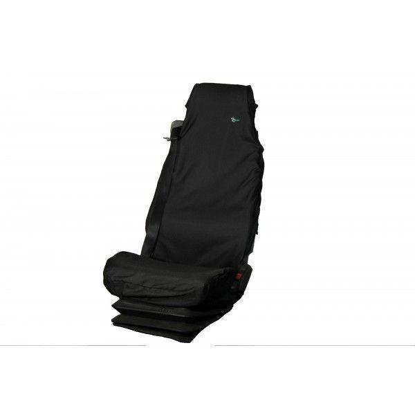 Truck Seat Cover Single Black