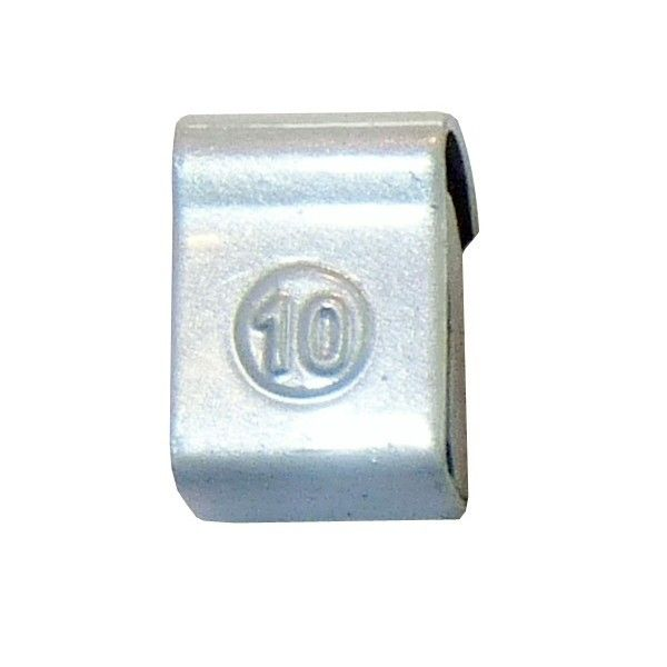Steel Wheel Weight 10G Pack Of 100