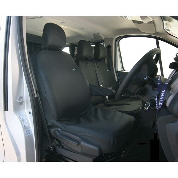 Van Seat Cover Single Renault Traficvauxhall Vivaronissan Nv300 Fiat Talento