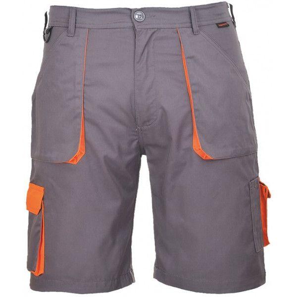 Texo Contrast Shorts Charcoal Medium