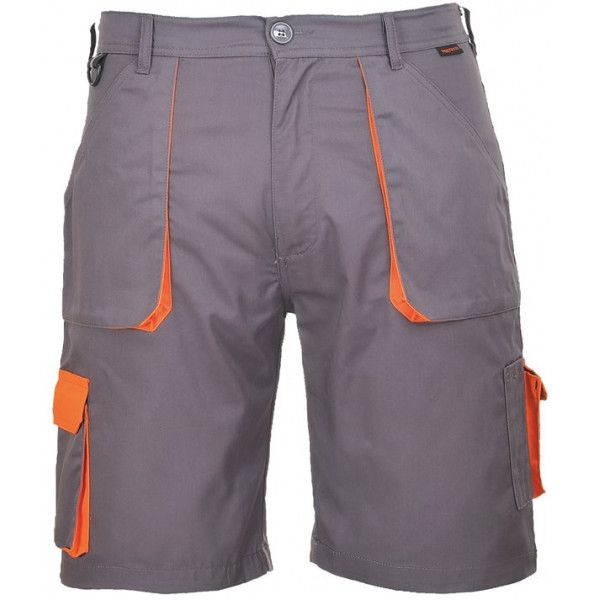 Texo Contrast Shorts Charcoal Small