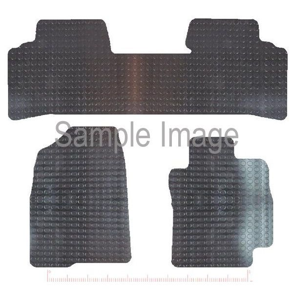 Rubber Tailored Car Mat Toyota Prius Taxi Version 20052009 Pattern 3413