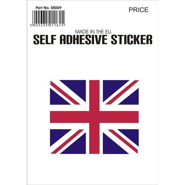 Outdoor Vinyl Sticker Small Union Jack
