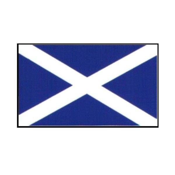 Outdoor Vinyl Sticker St. Andrews Flag