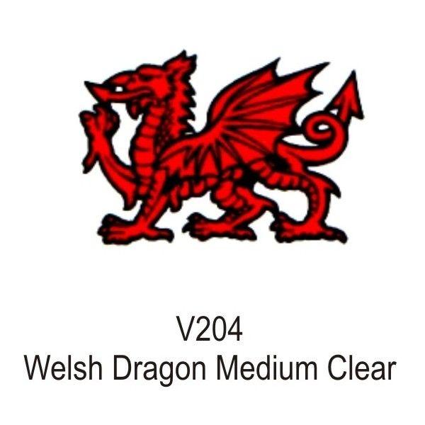 Outdoor Vinyl Sticker Welsh Dragon