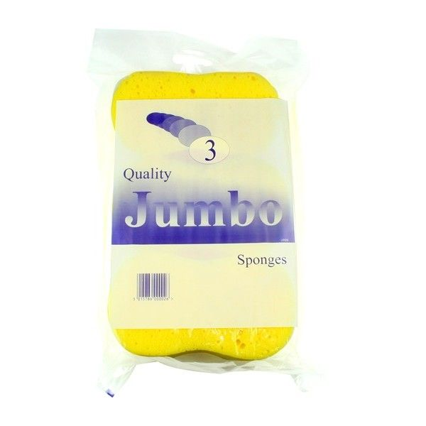 Jumbo Sponge Super Value Pack Of 3