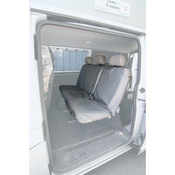 Van Crew Seat Cover Doubletriple Black