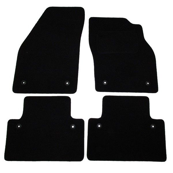 Standard Tailored Car Mat Volvo V50 With Clips Pattern 1334