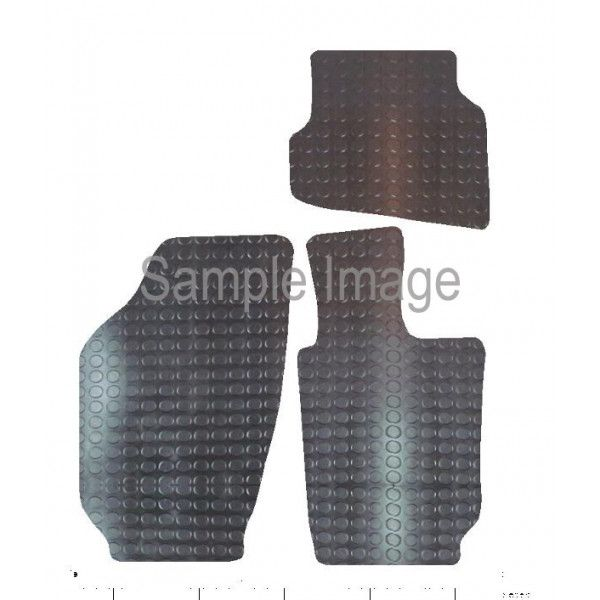 Rubber Tailored Car Mat Vw Polo 2009 Onwards Pattern 1364