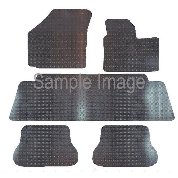 Rubber Tailored Car Mat Vw Caddy Maxi Life 2008 Onwards Pattern 2764