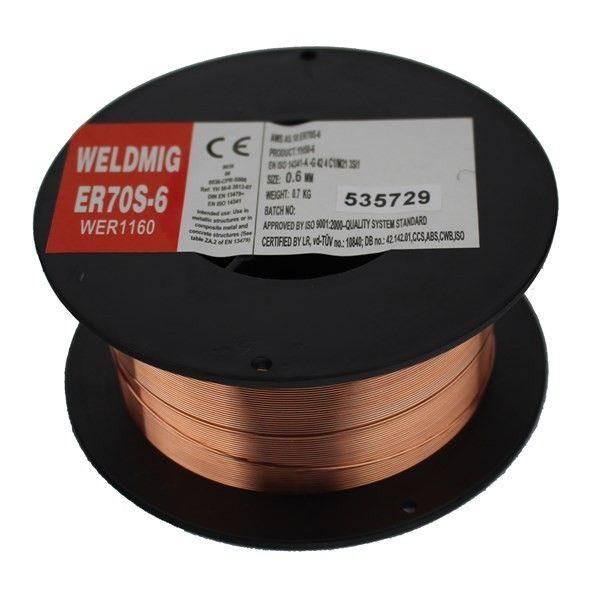 Mild Steel Mig Wire 0.6Mm 0.7Kg