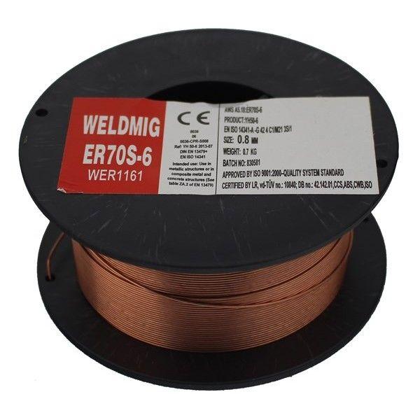 Mild Steel Mig Wire 0.8Mm 0.7Kg