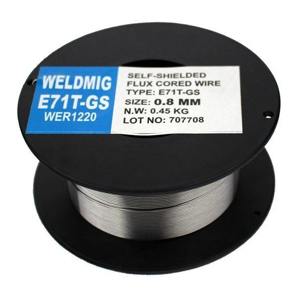 Gasless Welding Mig Wire 0.8Mm 0.45Kg