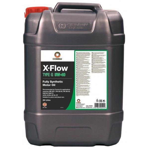 Xflow Type G 5W40 20 Litre