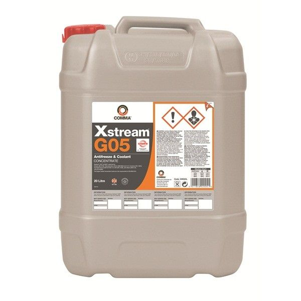 Xstream G05 Heavy Duty Antifreeze Coolant Concentrated 20 Litre