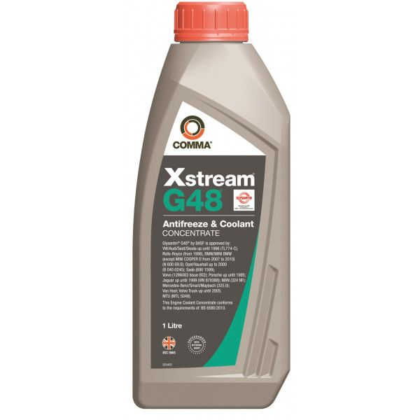 Xstream G48 Antifreeze Coolant Concentrated 1 Litre