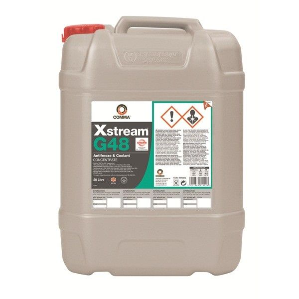 Xstream G48 Antifreeze Coolant Concentrated 20 Litre