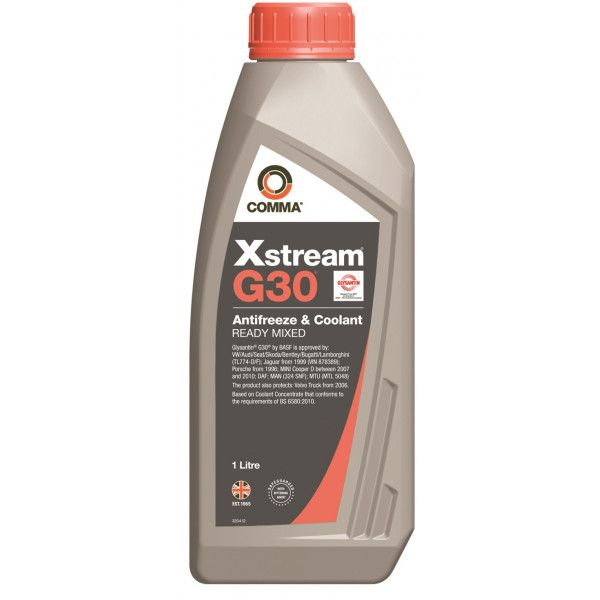 Xstream G30 Antifreeze Coolant Ready To Use 1 Litre