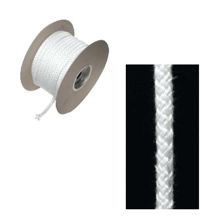 Rope Seal 6Mm ? X 25M Reel - Soft White