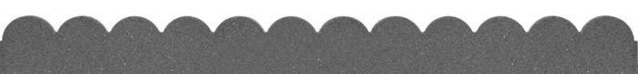 Primeur Flexi Curve Scallop Border Grey