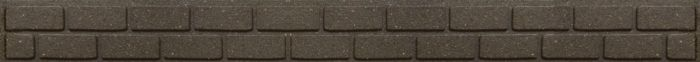 Primeur Ultra Curve Border Brick 9Cm Earth