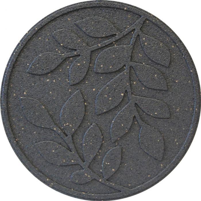 Primeur Reversible Stepping Stone Leaves Grey