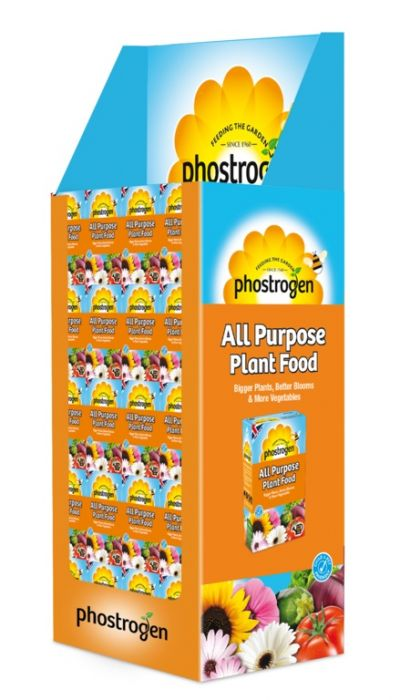 Sbm Life Science Phostrogen All Purpose Plant Food 80 Can Display Unit Of 60