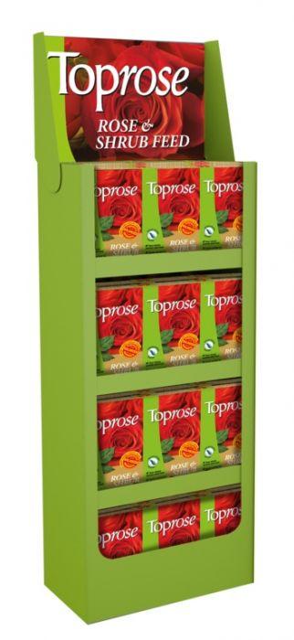Toprose Rose & Shrub Feed 4Kg Display Unit Of 48
