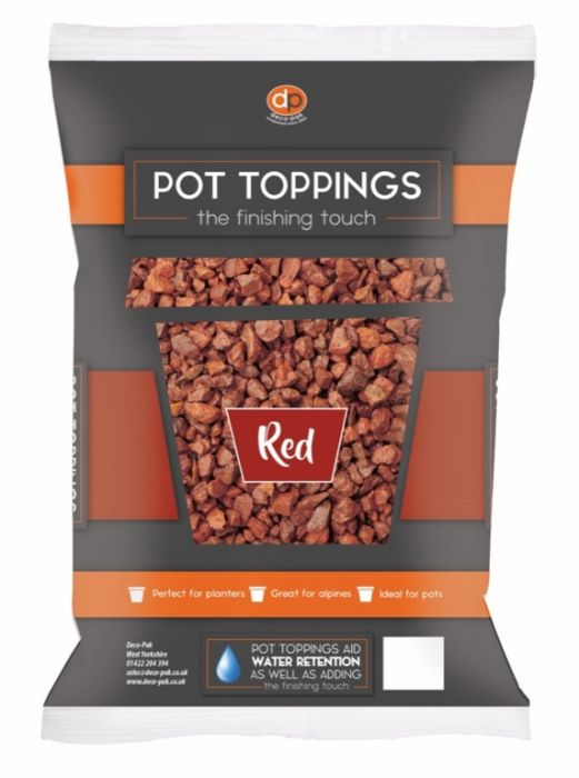 Deco-Pak Pot Toppings 20Mm Red