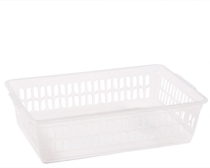 Wham Medium Handy Basket Clear