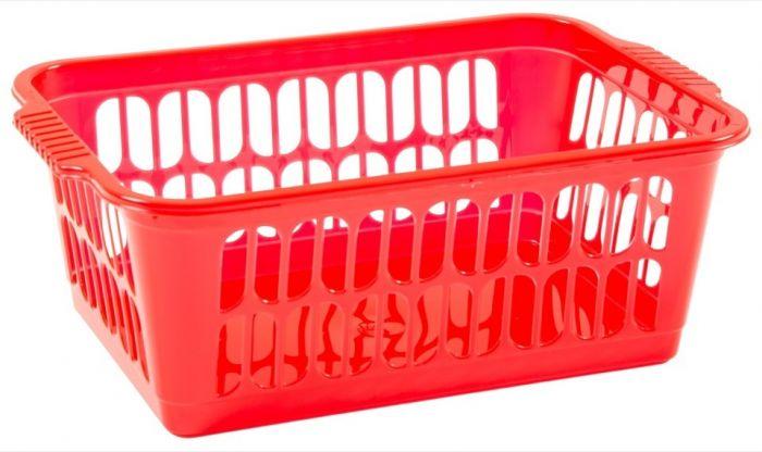 Wham Medium Handy Basket Red