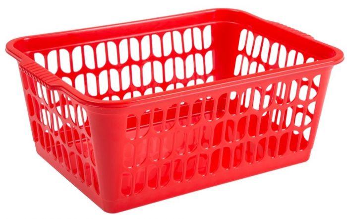 Wham Large Handy Basket Red
