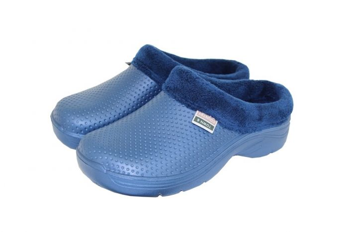 Town & Country Fleecy Cloggies Navy 6