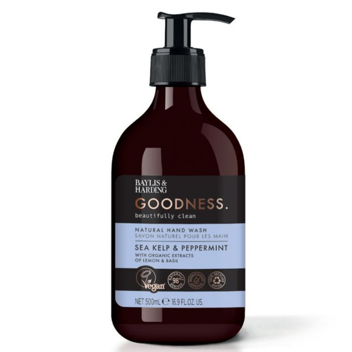 Baylis & Harding Hand Wash 500Ml Sea Kelp & Peppermint