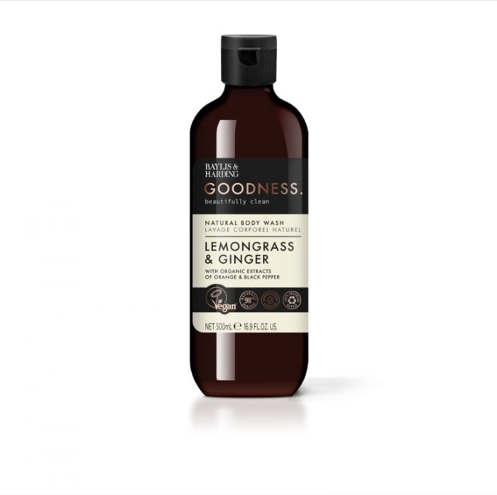 Baylis & Harding Bodywash 500Ml Lemongrass & Ginger