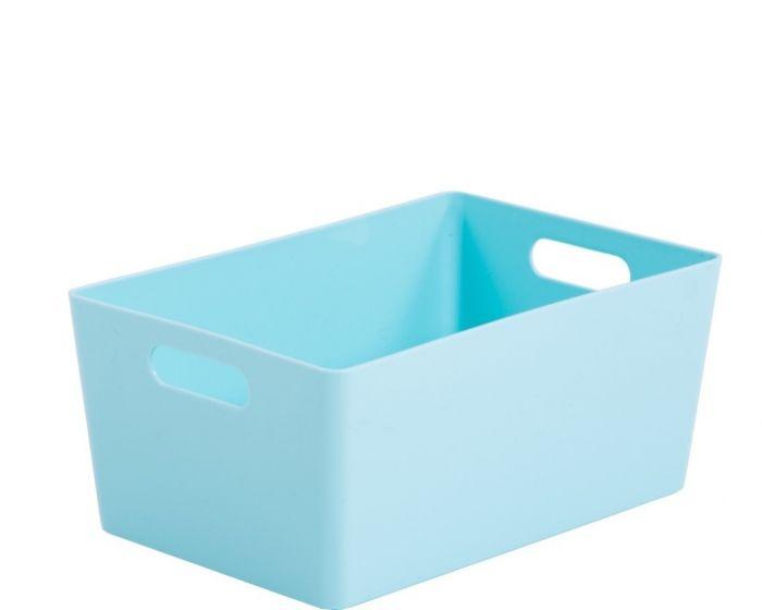 Whatmore Rectangular Studio Box 17 X 25.5 X 11Cm Duck Egg Blue
