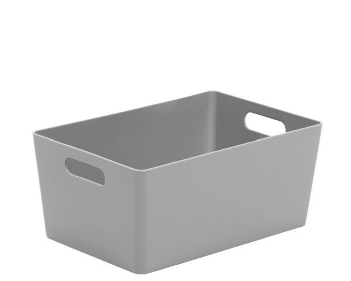 Whatmore Rectangular Studio Box 17 X 25.5 X 11Cm Cool Grey