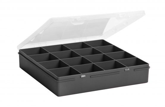 Whatmore Organiser Box & Lid 16 Division