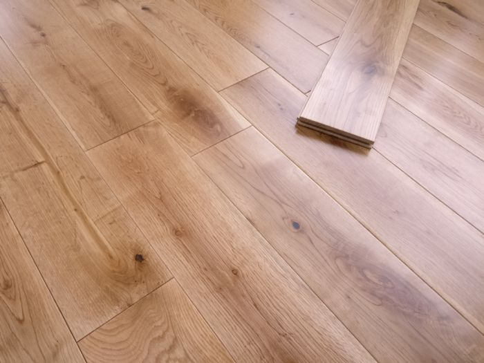 Y.T.D Limited Solid Oak Flooring 18 X 125Mm X Random Length 1.2M2